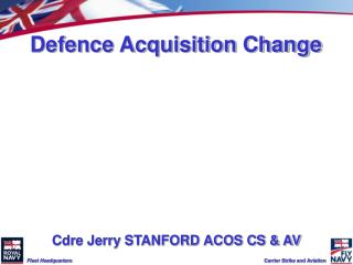 Defence Acquisition Change