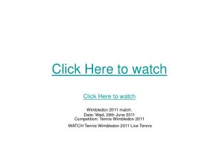 tomic vs djokovic live streaming wimbledon tennis 2011 free