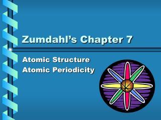 Zumdahl's Chapter 7