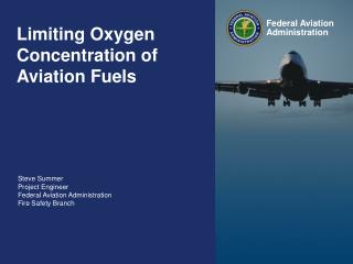 Limiting Oxygen Concentration of Aviation Fuels