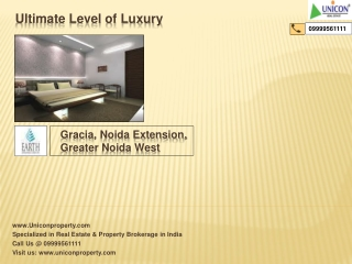 Earth Gracia Noida Extension (Call 9999561111)