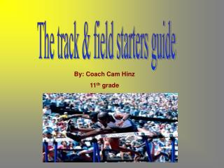 The track & field starters guide