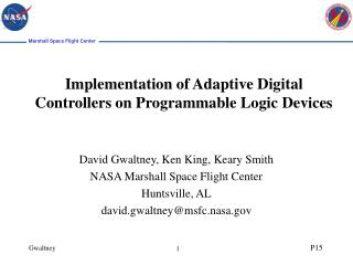 Implementation of Adaptive Digital Controllers on Programmable Logic Devices