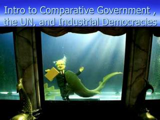 Intro to Comparative Government , the UN, and Industrial Democracies
