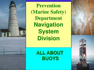 Prevention Marine Safety Department Navigation System Division