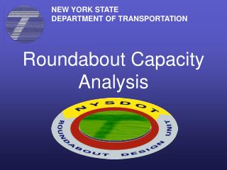 Roundabout Capacity Analysis