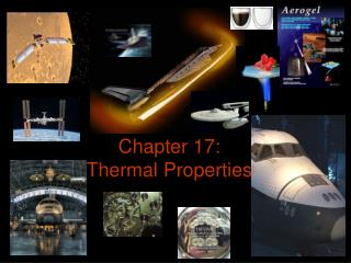 Chapter 17: Thermal Properties