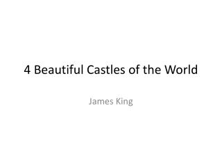 Top Castles of the World