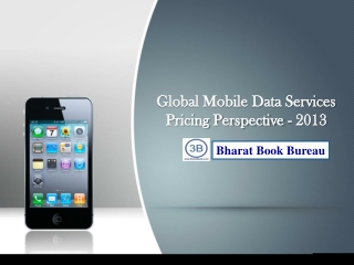 Global Mobile Data Services Pricing Perspective - 2013