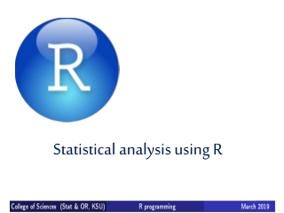 Statistical Distributions in R