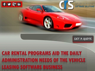 DETERMINE NEED FOR A FULLY CUSTOMIZABLE RENT CAR SOFTWARE NO