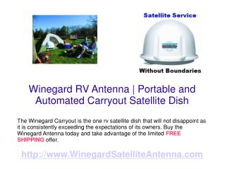 Winegard RV Antenna Topping the Charts
