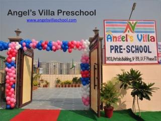 Angel's Villa Preschool and Child Day Care Gurgaon