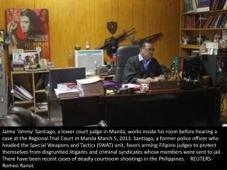 Pistol-packing judge