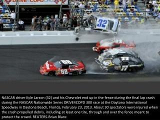 Crash at Daytona
