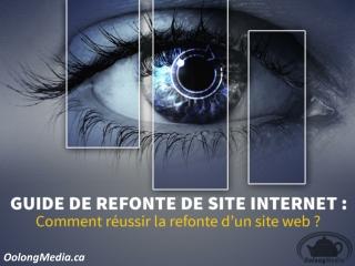 Refonte,référencement et optimisation de site web