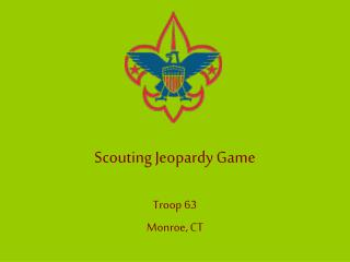 Scouting Jeopardy Game