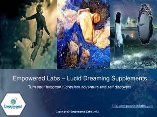 Empwoered Labs - Lucid Dreaming Supplements
