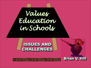 Values Education in Schools