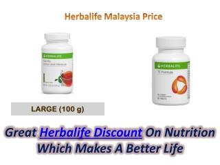 Herbalife Malaysia Price