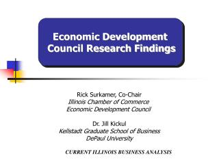 CURRENT ILLINOIS BUSINESS ANALYSIS