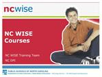 NC WISE Courses