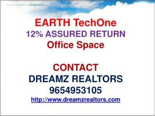 earth techone, noida, call 9654953105,furnished office space