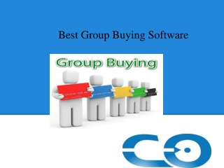 Best Group Buying Software