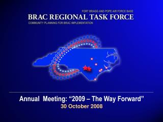 "Annual  Meeting: ""2009 – The Way Forward"" 30 October 2008"