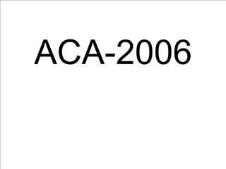 ACA-2006