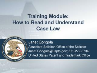 Training Module: How to Read and Understand Case Law