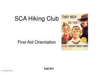 SCA Hiking Club