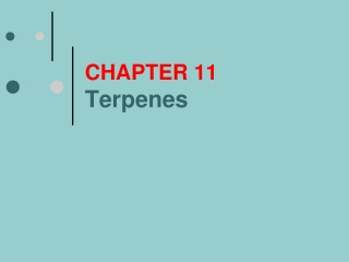 CHAPTER 11 Terpenes
