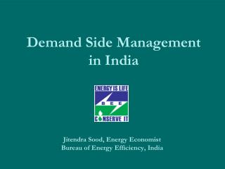 Demand Side Management  in India