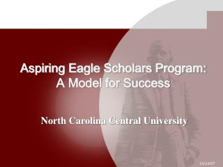 Aspiring Eagle Scholars Program:  A Model for Success