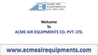Air Equipment - Roots Blower from www.acmeairequipments.com