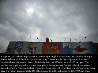 A Catholic education