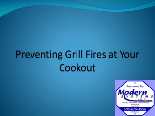 Preventing Grill Fires at Your Cookout