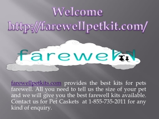 Best Pet Caskets on Farewell