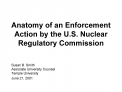 Anatomy of an Enforcement  Action by the U.S. Nuclear Regulatory Commission