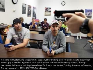 Teachers-only gun training