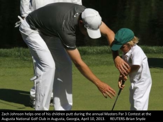 Kids day at Augusta
