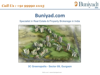 Just Call @ 9999011115 And Book Your | 3C Greenopolis