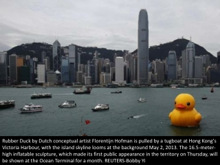 Larger-than-life rubber ducky