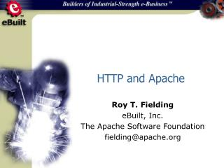 HTTP and Apache
