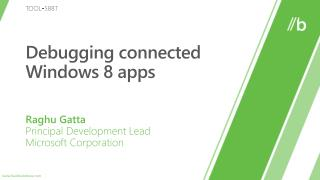 Debugging connected Windows 8 apps