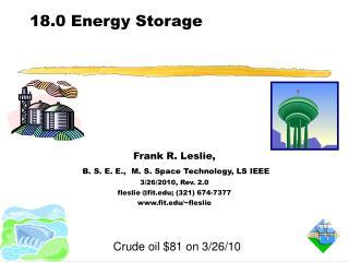 18.0 Energy Storage