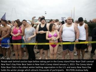 New Year swims