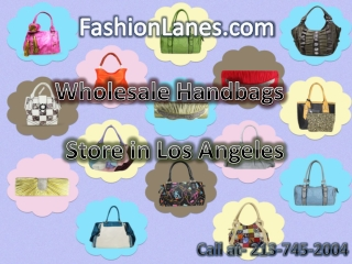Fashion lanes the online site for wholesale bags closes deal