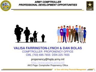 ARMY COMPTROLLER  PROFESSIONAL DEVELOPMENT OPPORTUNITIES